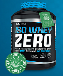 "3 -  Iso-Whey-Zero - Photo by ""Biotech USA"""